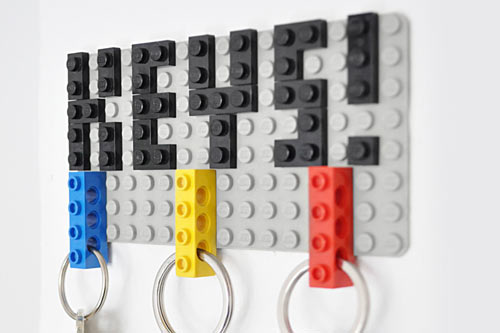 LEGO DIY Key Hanger by Felix Grauer的图片