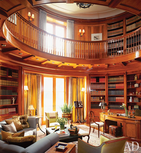 The Best Home Libraries from the Pages of AD: Homes & Spaces: architecturaldigest.com的图片