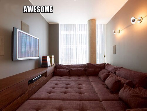 Sick Home Theatre Set Up的图片