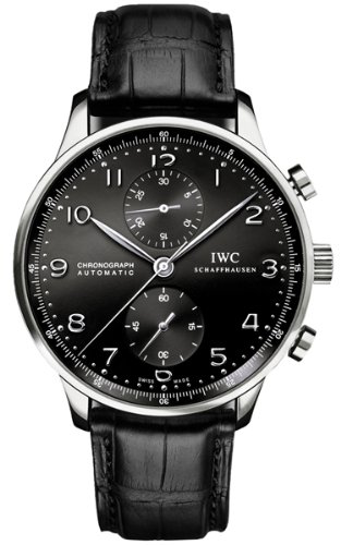 IWC Portuguese Men's Chronograph Automatic Watch - 3714-47的图片