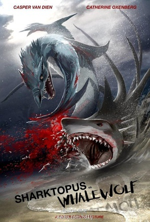 八爪狂鲨战鲸狼 Sharktopus vs Whalewolf 2015