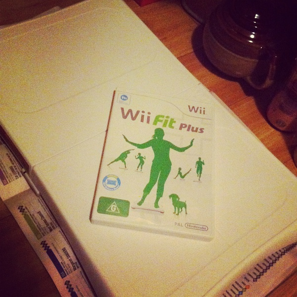 New wii fit plus!