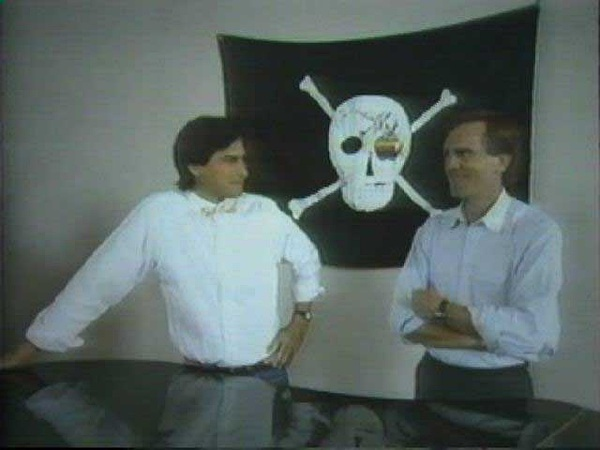 steve jobs & john sculley