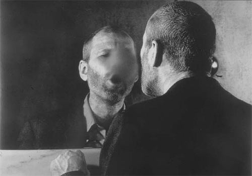 Dieter Appelt 'The Mark on the Mirror That Breathing Makes'  1977