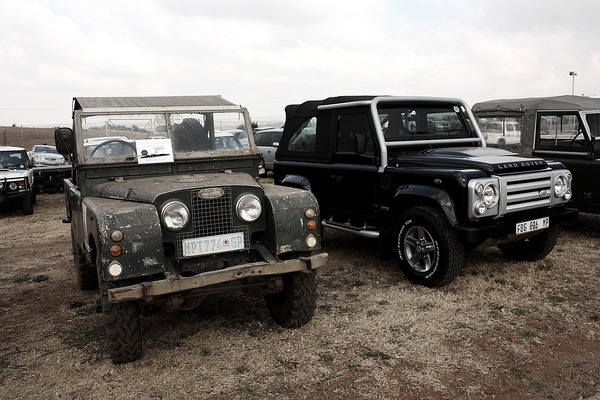 Land Rover, 1957 and 2011