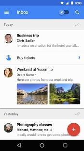 Inbox by Gmail (Android)应用截图_1