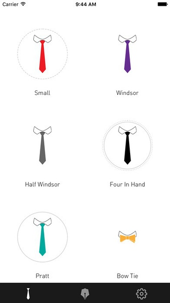 Tie Right (iPhone / iPad)应用截图_2