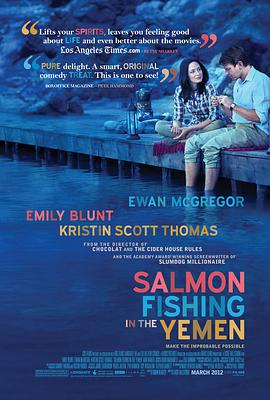 到也门钓鲑鱼 Salmon Fishing in the Yemen