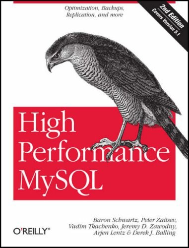 High Performance MySQL Second Edition