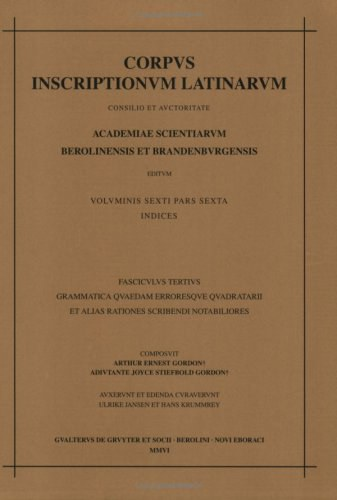 Corpus inscriptionum Latinarum
