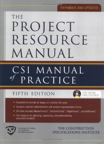 Project Resource Manual
