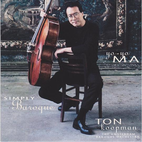 yo-yo ma 馬友友 - Simply Baroque