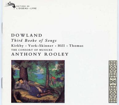 Dowland: The Third Booke of Songes (1603)