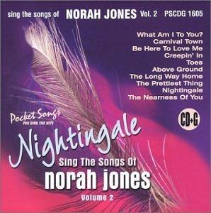 Nightingale:  Sing The Songs of Norah Jones, Vol. 2 (karaoke)
