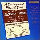 Landowska... - Bach: Sonatas for Harpsichord and Violin