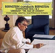 "Christa Ludwig... - Bernstein - Symphonies Nos.1 ""Jeremiah"" & 2 ""The Age of Anxiety"""