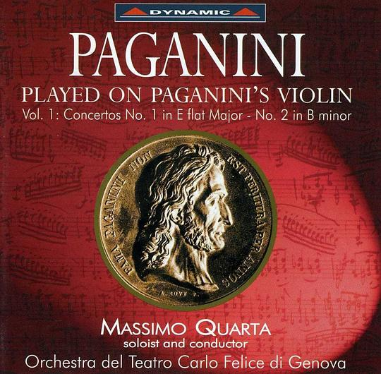 Massimo Quarta - Paganini:Played on Paganini's Violin Vol.1