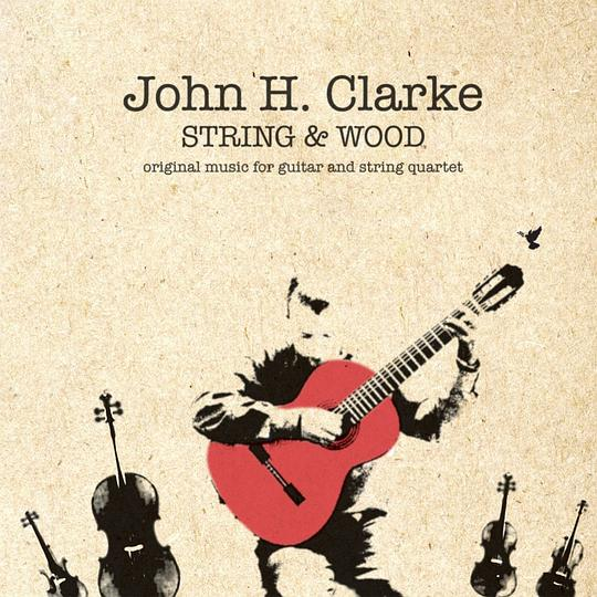 John H. Clarke - string and wood