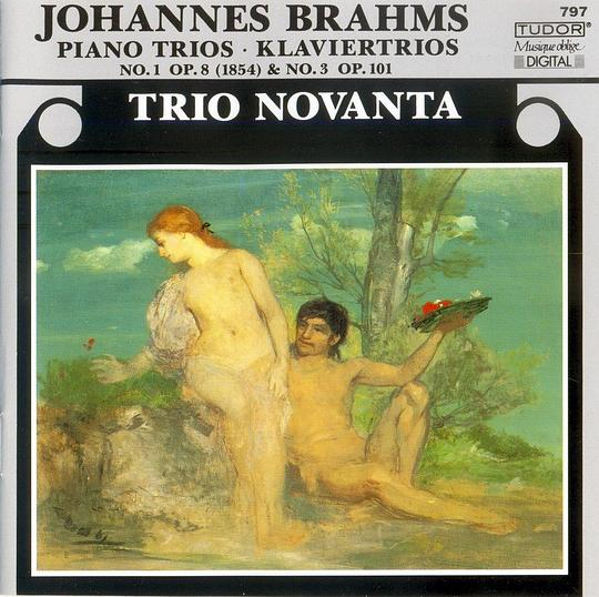 Brahms: Piano Trio in B No1, Op8; Piano Trio in Cm No3, Op101