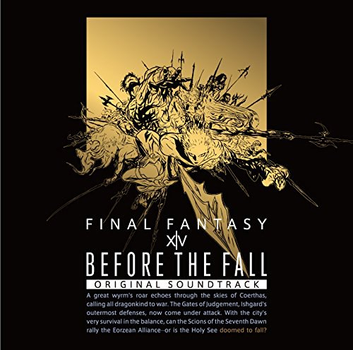 ゲーム ミュージック - BEFORE THE FALL FINAL FANTASY XIV Original Soundtrack(映像付サントラ/Blu-ray Disc Music)