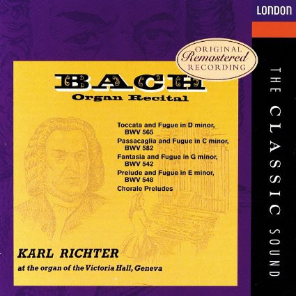卡尔·李希特 Karl Richter - Bach:Organ Recital