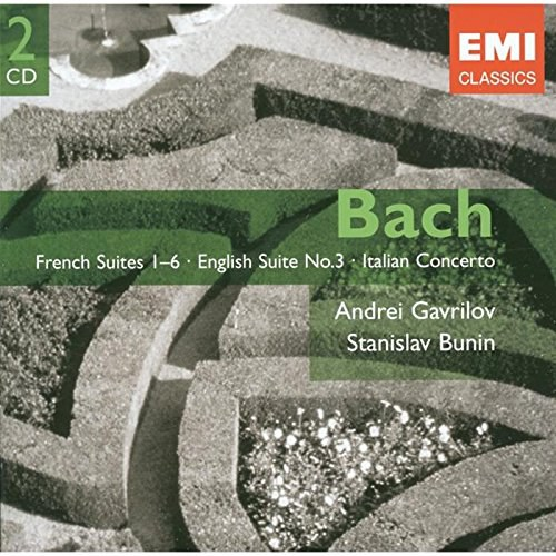 Bach: French Suites, Nos. 1-6 / English Suite, No. 3 / Italian Concerto