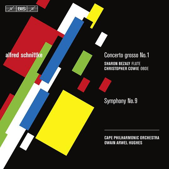 Owain Arwel Hughes... - SCHNITTKE, A.: Concerto Grosso No. 1 (version for flute and oboe) / Symphony No. 9