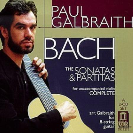 Paul Galbraith - J. S. Bach: Sonatas & Partitas