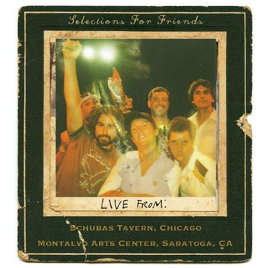 Jason Mraz - Selections for Friends - Live From:Schubas Tavern, Chicago, Montalvo Winery, Saratoga California