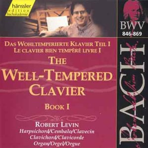 Bach: The Well-Tempered Clavier, Book 1