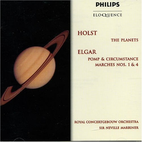 Holst: Planets, suite for orchestra (or pianos) Op32 / Elgar: Pomp and Circumstance Marches, Op. 39, No. 1 & No. 4