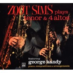 Zoot Sims - Sims : Plays Tenor & 4 Altos