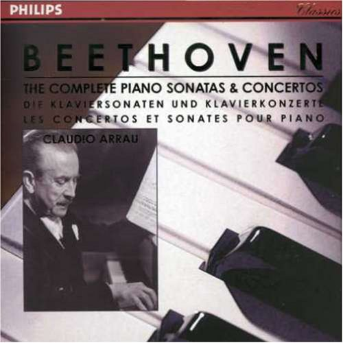 Claudio Arrau... - Beethoven: The Complete Piano Sonatas & Concertos [Box Set]