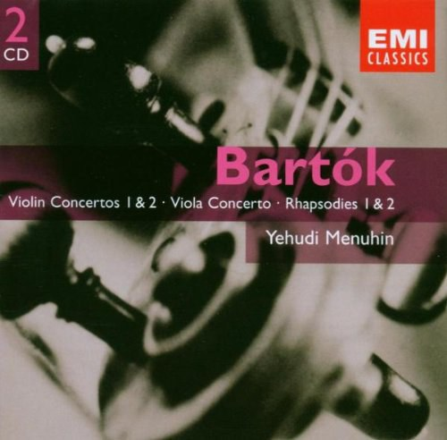 Bartok: Violin Concertos, Viola Concerto, 6 Duo for 2 Violins, Violin Rhapsodies