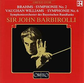 Brahms/Williams - Symphonie No. 2 / Symphonie No. 6