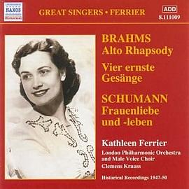 Brahms/Schumann - Ferrier sings Schumann and Brahms