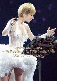 滨崎步 Ayumi Hamasaki - ayumi hamasaki ~POWER of MUSIC~ 2011 A LIMITED EDITION [Blu-ray]